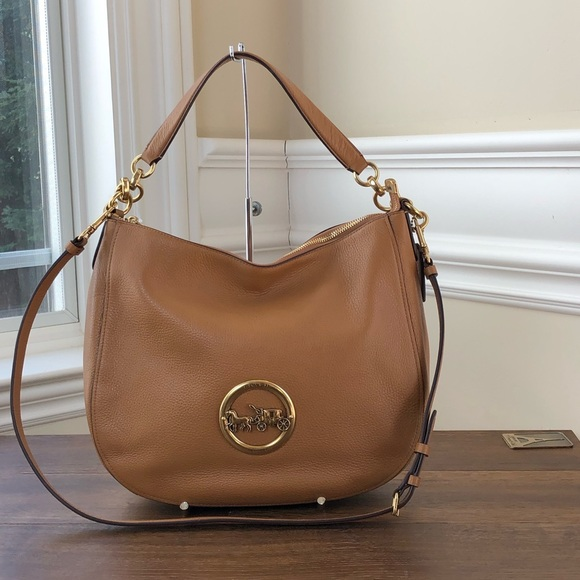 cc523cb3085d NWT Coach Elle leather hobo handbag crossbody